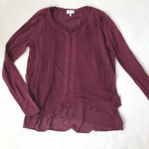 Lucky Brand 🍀 Sweater Blouse